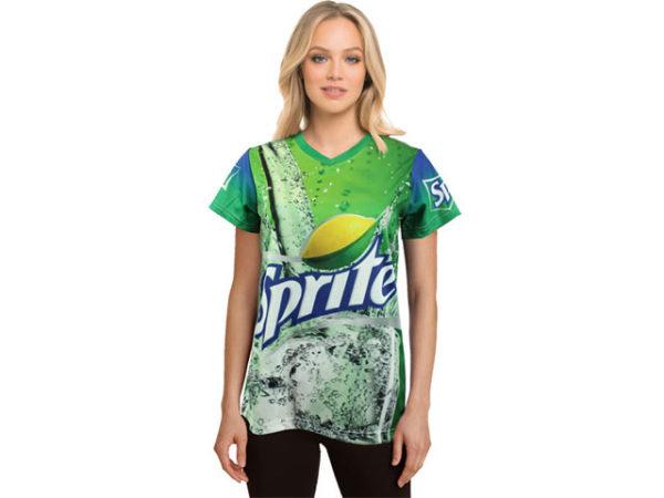 Ladies Carson V-Neck T Shirt