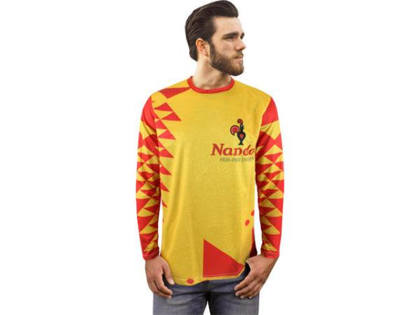Mens Phoenix Long Sleeve Crew Neck T Shirt
